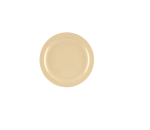 G.E.T. Enterprises Tan Round Plate - 10.25 in.