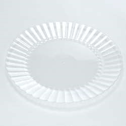 Plate Resposable Clear - 10 in.