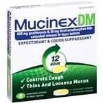 Mucinex Dm Regular Strength Blister Pack