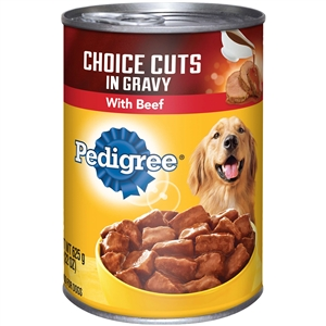 Pedigree Complete Nutrition Choice Cuts With Beef - 22 Oz.