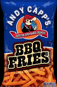 Andy Capp Barbecue Fries Unpriced - 3 Oz.