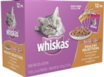 Whiskas Cat Food Choice Cuts Poultry Variety Pack