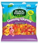 Black Forest Gummy Worms Candy - 5 Lb.