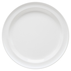 White Supermel Plate - 10.25 in.