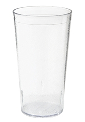 Clear 5.5 in. Tall Textured Tumbler - 12 oz.