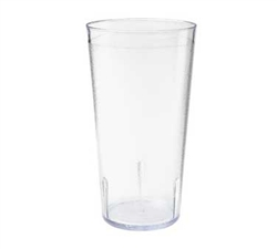 Clear 5.75 in. Tall Textured Tumbler - 16 oz.
