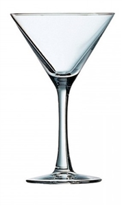Excalibur Fully Tempered Cocktail Martini Glass - 7.5 Oz.