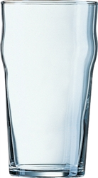Arcoroc Ale and Pub Glass Nonic Tumbler - 20 Oz.