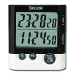 Timer Digital Dual Event Clock - 7 in.