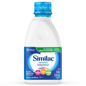 Similac Advance Ready To Feed Bottle - 32 Fl. Oz.