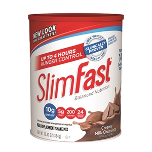 Slimfast Powder Milk Chocolate - 12.83 Oz.