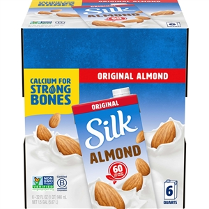 Silk Aseptic Pure Almond Original - 32 Oz.
