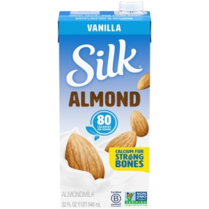 Silk Aseptic Pure Almond Vanilla - 32 Oz.