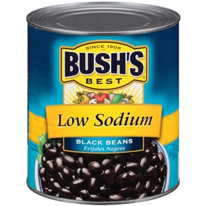 Black Bean Low Sodium Fancy Brine - 108 Oz.
