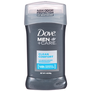 Dove Men Plus Care Deodorant Clean Comfort - 3 oz.