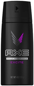 Axe Body Spray Excite - 4 Oz.