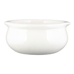 Vista Collection American Crock Onion Soup White - 4 in. x 2 in.