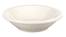 Vista Collection Rolled Edge Fruit Bowl White - 3.5 Oz.