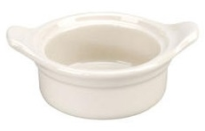Vista Collection American Casserole With Handles White - 6.38 in.