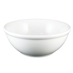 Catalina Nappy Bowl White - 16 Oz.