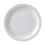 Catalina Narrow Rim Plate White - 10.5 in.