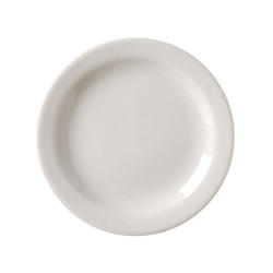 Vista Collection American Narrow Rim Plate White - 6.63 in.