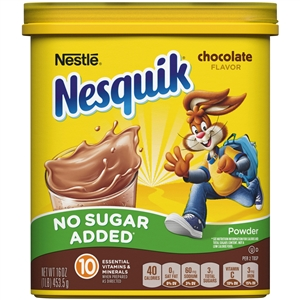 Nestle Nesquik Milk Flavoring Sugar Free Choco Powder
