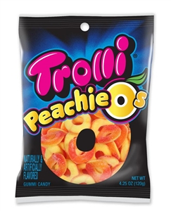 Gummies Peachie O's - 4.25 Oz.