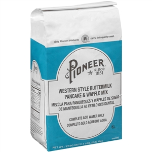 Pioneer Western Style Buttermilk Pancake Mix - 5 Lb.
