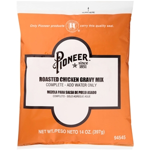 Pioneer Roasted Chicken Gravy Mix - 14 Oz.