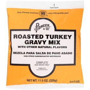 Pioneer Roasted Turkey Gravy Mix - 11.3 Oz.