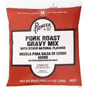 Pioneer Pork Roast Gravy Mix - 11.3 Oz.