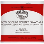 Conestoga Instant Low-Sodium Poultry Gravy Mix - 6.5 Oz.