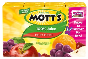 Fruit Punch 100 Percentage Juice Box - 54 fl.oz.