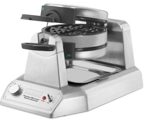 Waring Waffle Maker Double Vertical Design