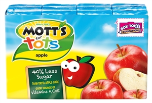 Motts For Tots Apple Juice - 6.75 oz.