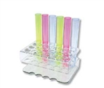 Shooter Tubes Crystal Assorted Color - 6 in.