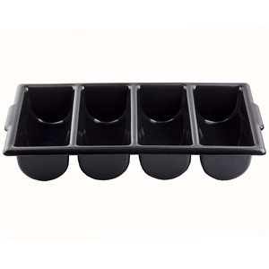 Bin 4 Compartment Plastic Silverware