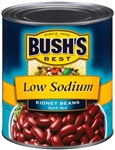 Kidney Beans Dark Red Low Sodium - 111 Oz.