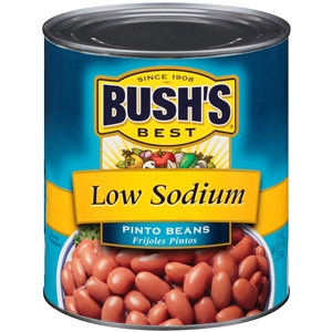 Pinto Beans Low Sodium - 111 Oz.