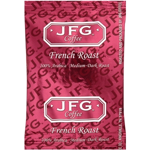 JFG Portion Pack Coffee French Roast Blend - 1.1 Oz.