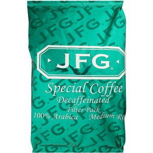 JFG Round Cafe Blend Decaf Filterpack - 1.3 Oz.