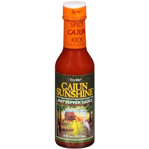 Try Me Cajun Sunshine Sauce Bottle - 5 Fl. Oz.