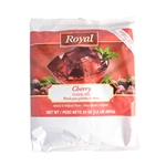 Royal Gelatin Cherry - 24 Oz.