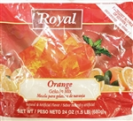 Royal Gelatin Orange - 24 Oz.