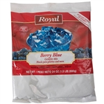 Royal Gelatin Berry Blue - 24 Oz.