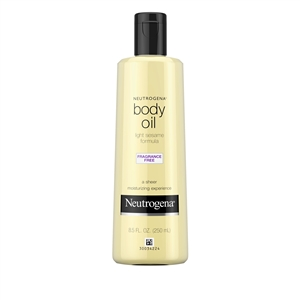 Neutrogena Body Oil Fragrance Free - 8.5 fl.oz.