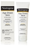 Neutrogena Age Shield Sunblock Lotion Faces Spf 10 - 4 fl.oz.