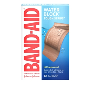 Band-Aid Tough Strips Extra Large Waterproof