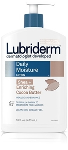 Lubriderm Daily Lotion Shea and Cocoa Butter - 16 fl.oz.